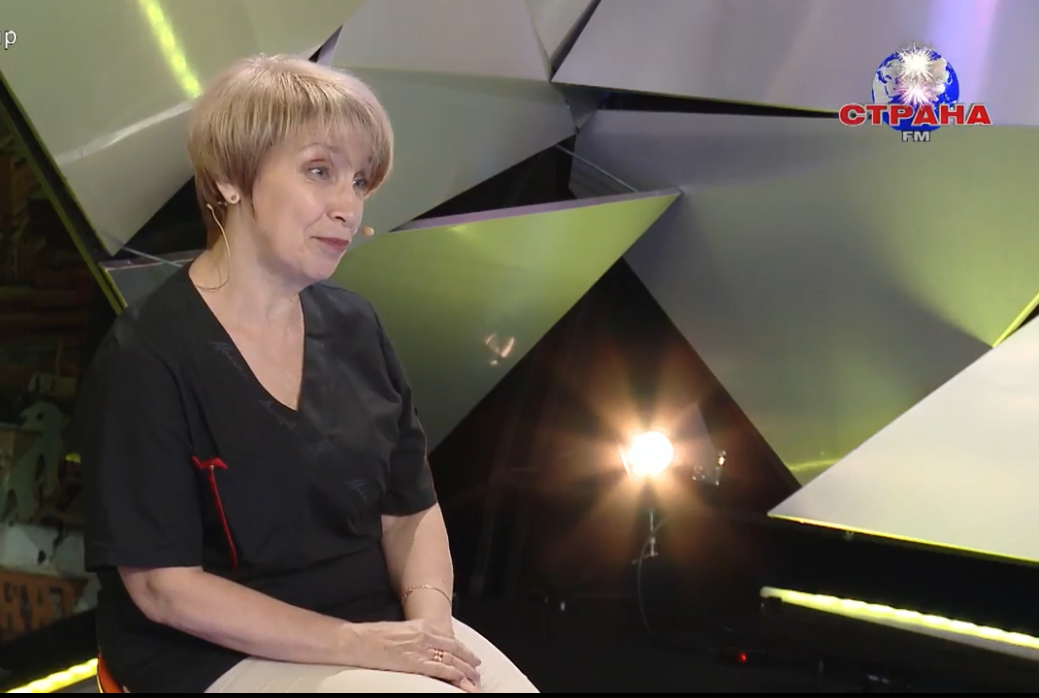 Эндокринолог Ольга Демичева в гостях у Страны FM